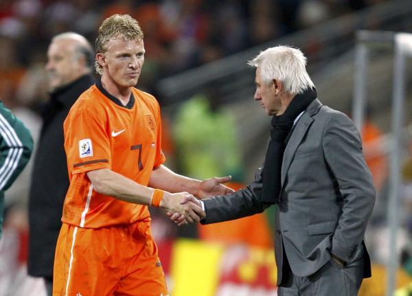 Photo of Bert van Marwijk & his friend   -